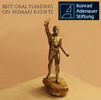 Best oral pleading on HUMAN RIGHTS - KUNRAD-ADENAUER-STIFTUNG
